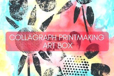 Collagraph Printmaking Art Box