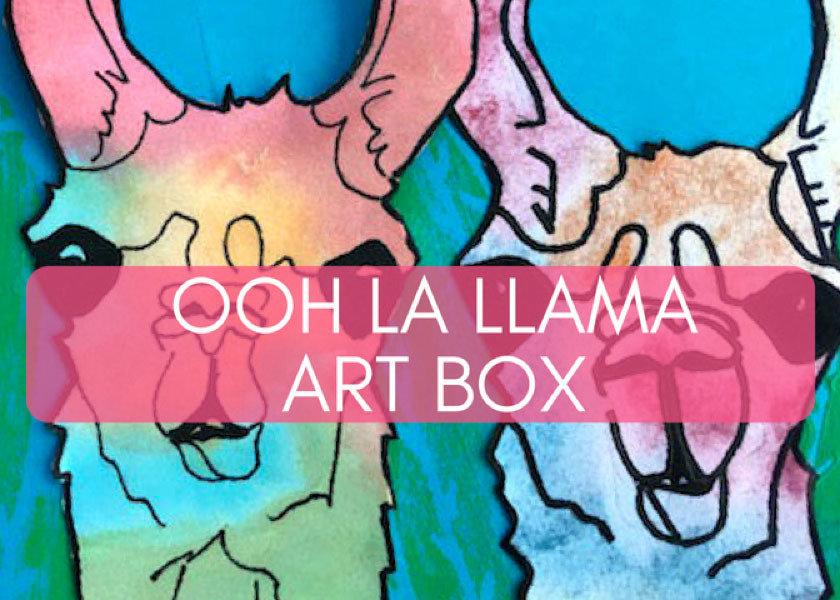 Ooh La Llama Mini Art Box