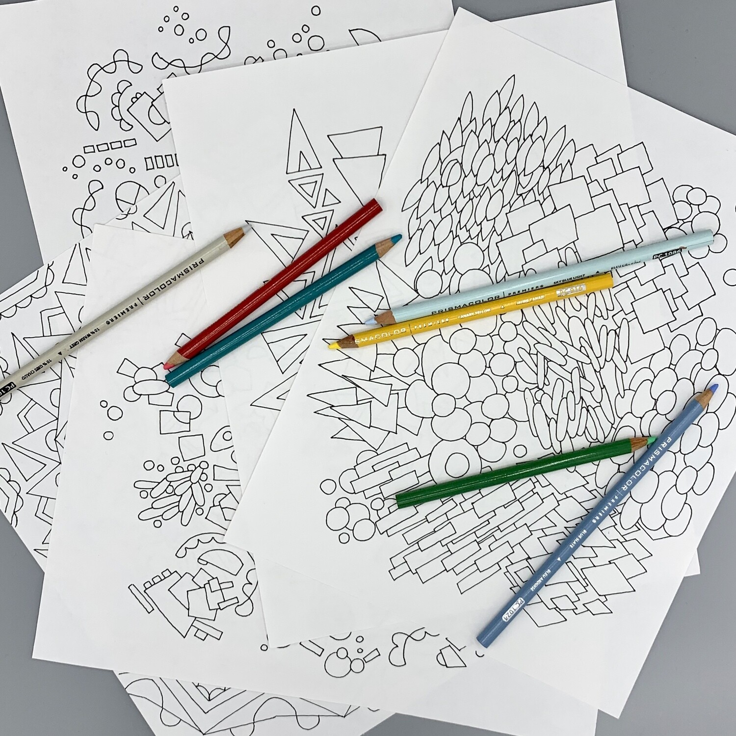 5 of Gabi's Coloring Pages #theQuarantineBook printables