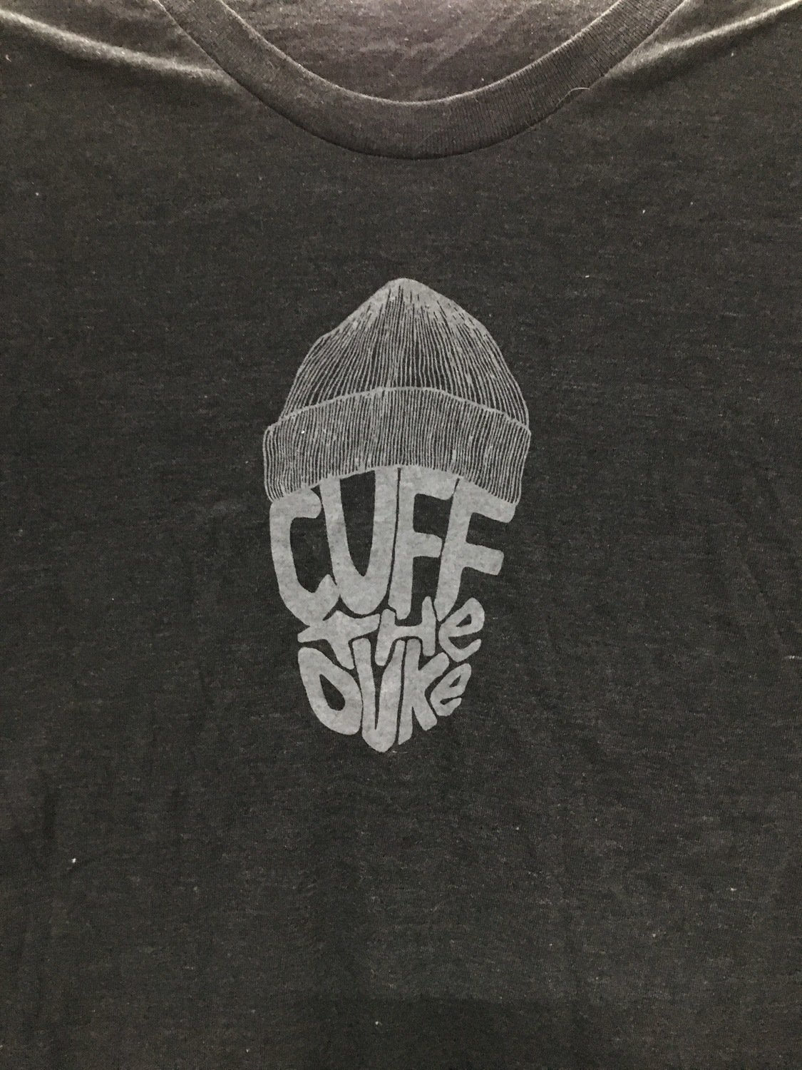 "Cuff The Duke ""Toque"" Women's T-Shirt (Heather Black)"