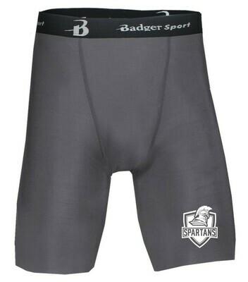 11 -12.) 4607 Badger Compression Short Graphite or Royal