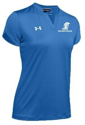 10.) 1351233 UA Women's Polo Royal