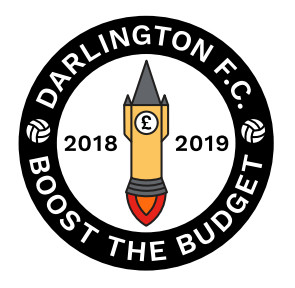 Boost The Budget 18/19 Pin Badge - BTB Rocket
