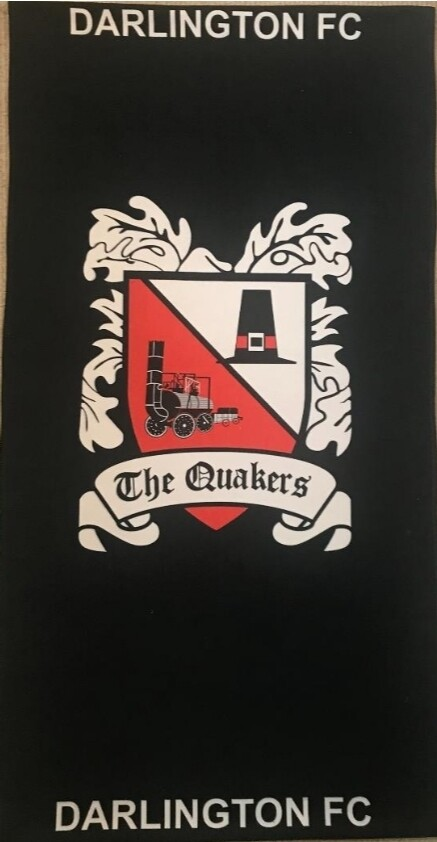 Darlington FC Beach Towel