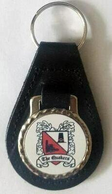 Darlington FC Leather Keyring