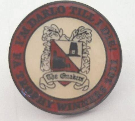 "Pin Badge ""I'm Darlo Till I Die"" - Trophy Winners"