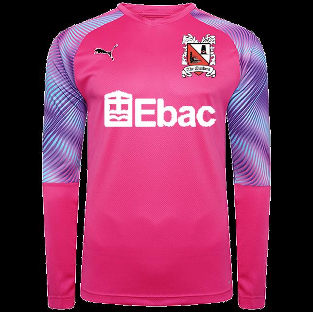 Puma Goalkeeper Shirt Pink Junior 20/21 (Ordered on Request)