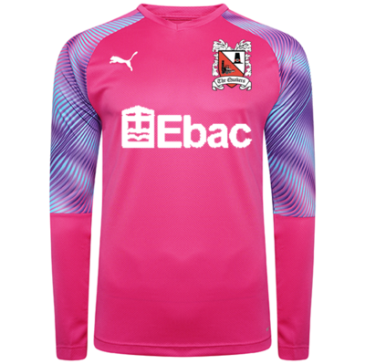 Puma Goalkeeper Shirt Pink Junior 20/21 (Ordered on Request)