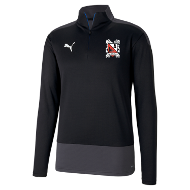 Puma Goal Quarter Zip Black/Asphalt 20/21 (Ordered on Request)