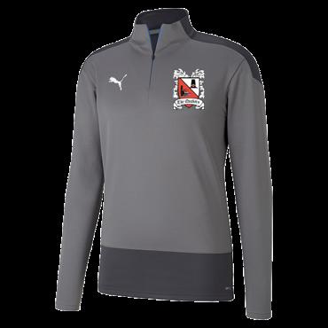 Puma Goal Quarter Zip Grey/Asphalt 20/21 (Ordered on Request)