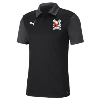 Puma Goal Sideline Polo Black/Asphalt 20/21 (Ordered on Request)