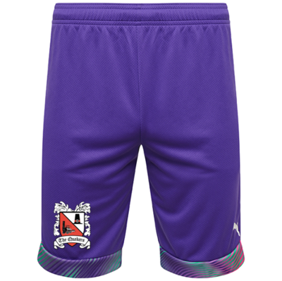 Puma Goalkeeper Shorts Purple Junior 20/21 (Ordered on Request)