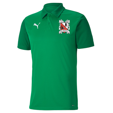 Puma Goal Sideline Polo Power/Pepper Green 20/21 (XL ONLY)