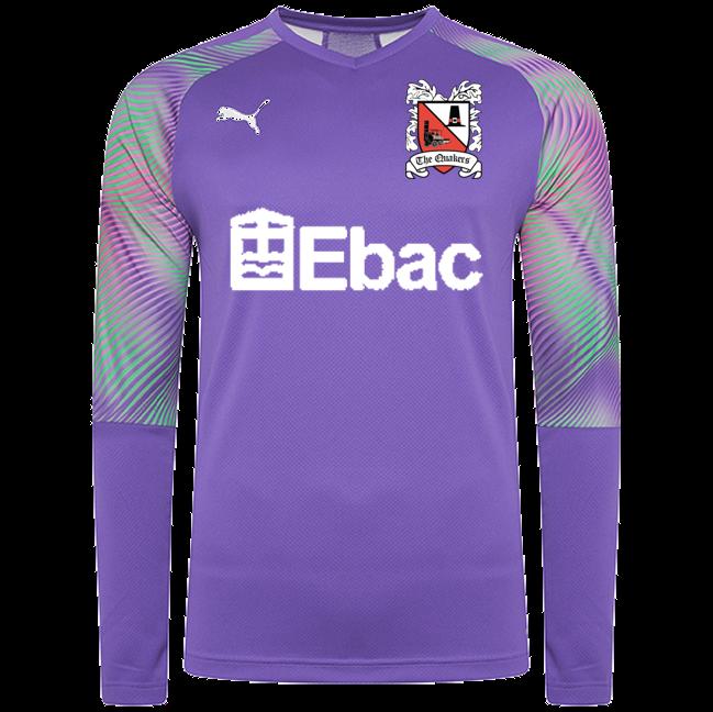 Puma Goalkeeper Shirt Purple Junior 20/21 (Ordered on Request)