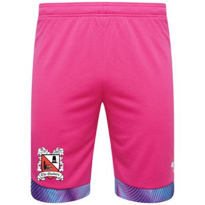 Puma Goalkeeper Shorts Pink Adult 20/21 (Ordered on Request)