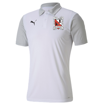 Puma Goal Sideline Polo White/Grey 20/21 (Ordered on Request)