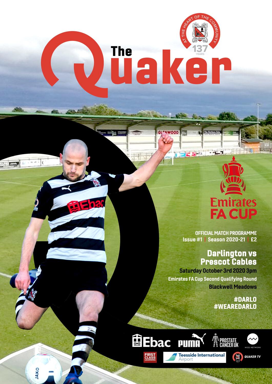 E-Programme - Prescot Cables (FA Cup)