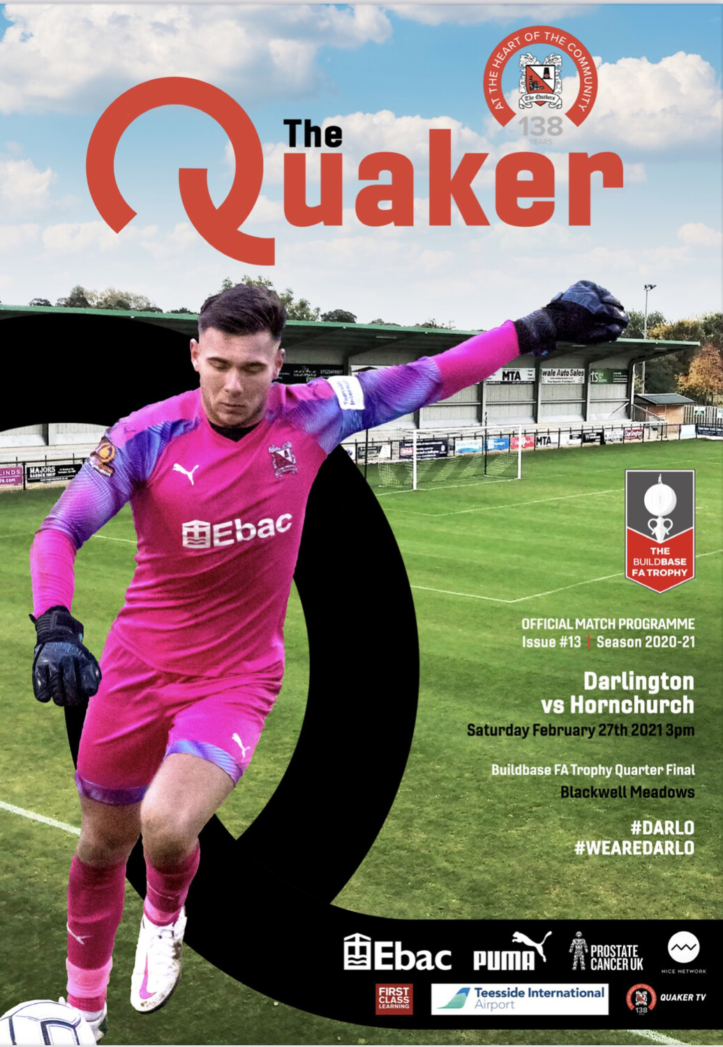 E-Programme - AFC Hornchurch (FA Trophy)