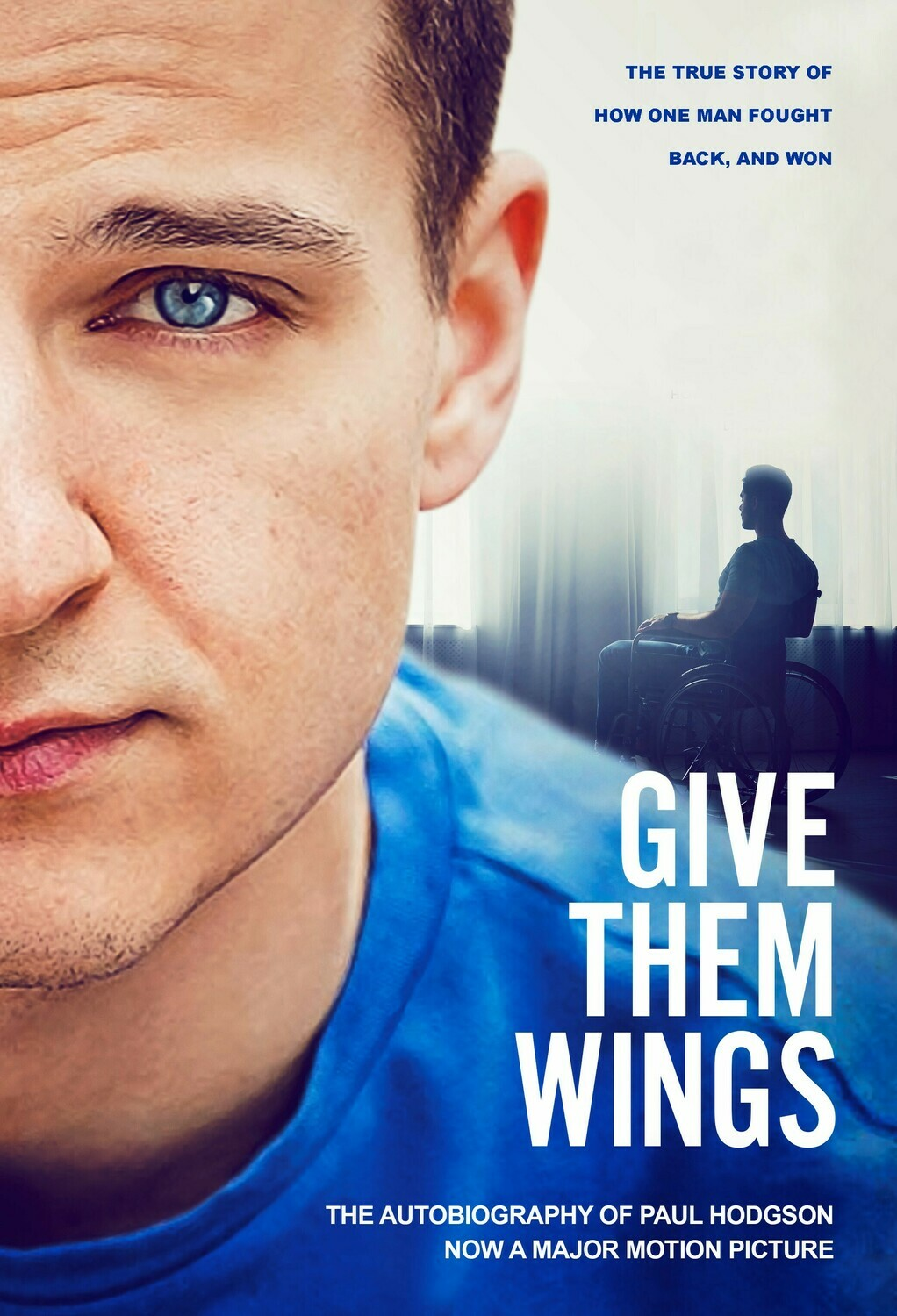 """""""Give Them Wings"""" Autobiography by Paul Hodgson"""