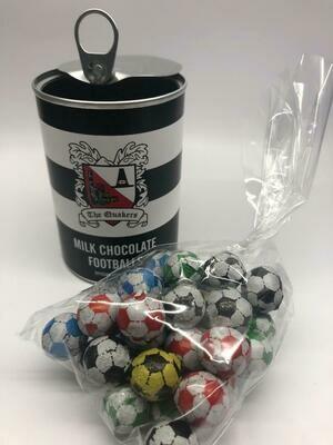 Darlington FC Chocolate Footballs