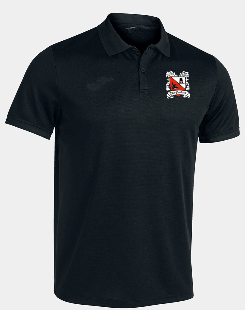 Joma Championship VI Polo Black/Anthracite (Adult) Ordered on Request