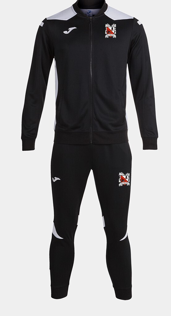 Joma Championship VI Track Suit Black/White (Adult) Ordered on Request