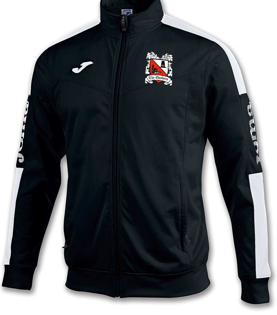 Joma Championship IV Jacket Black/White (Adult) Ordered on Request