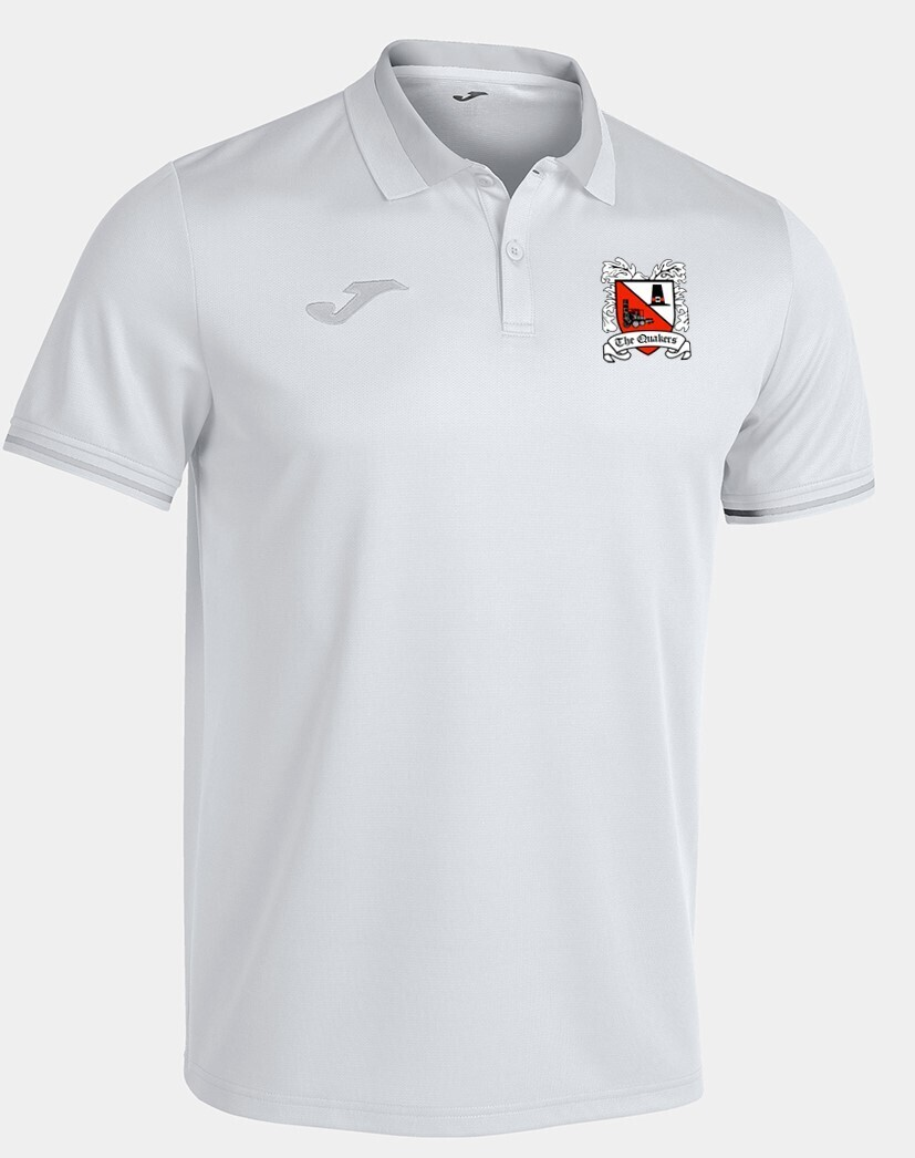 Joma Championship VI Polo White/Grey (Adult) Ordered on Request