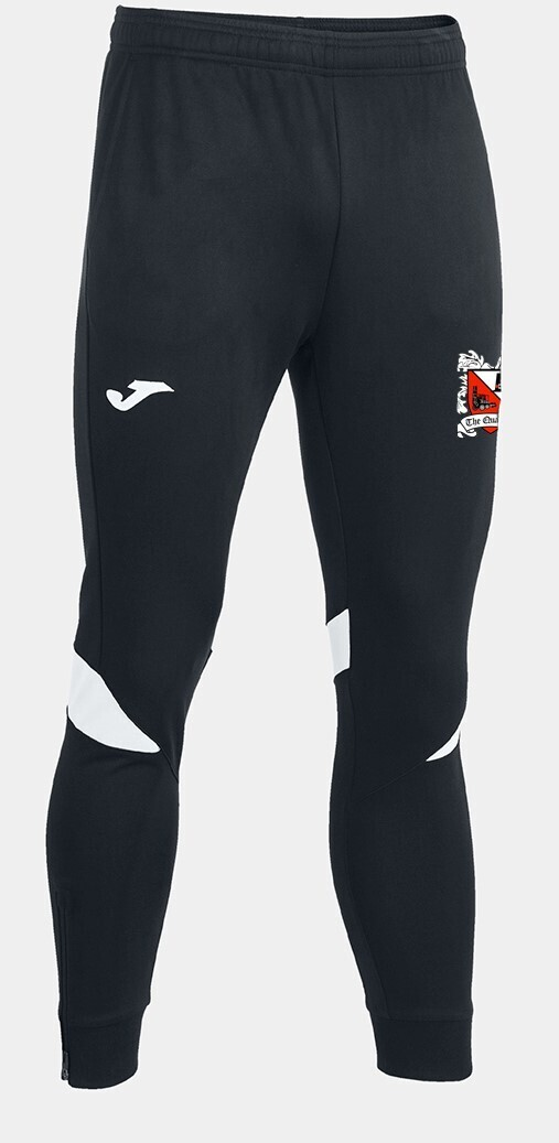 Joma Championship VI Track Pants Black/White (Adult) Ordered on Request