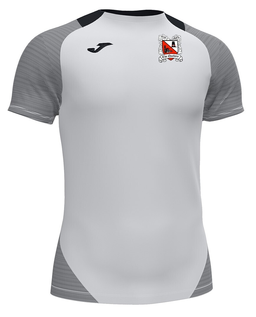 Joma Essential II T-Shirt White/Grey (Adult) Ordered on Request