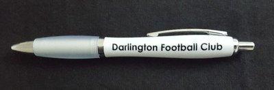 Ballpoint Pen Curvy White