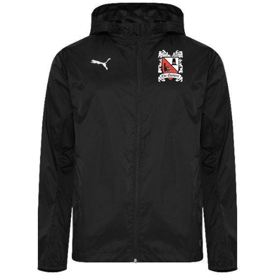 Puma Liga Black Rain Jacket 19/20 (Ordered on Request)