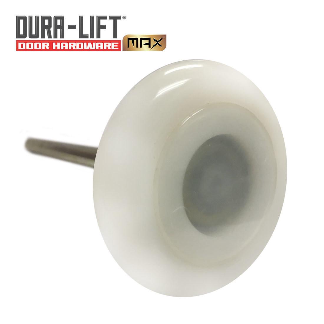 "DURA-LIFT Ultra-Life MAX 3"" 6201ZZ Nylon Garage Door Roller 7"" Stem (10-Pack)"