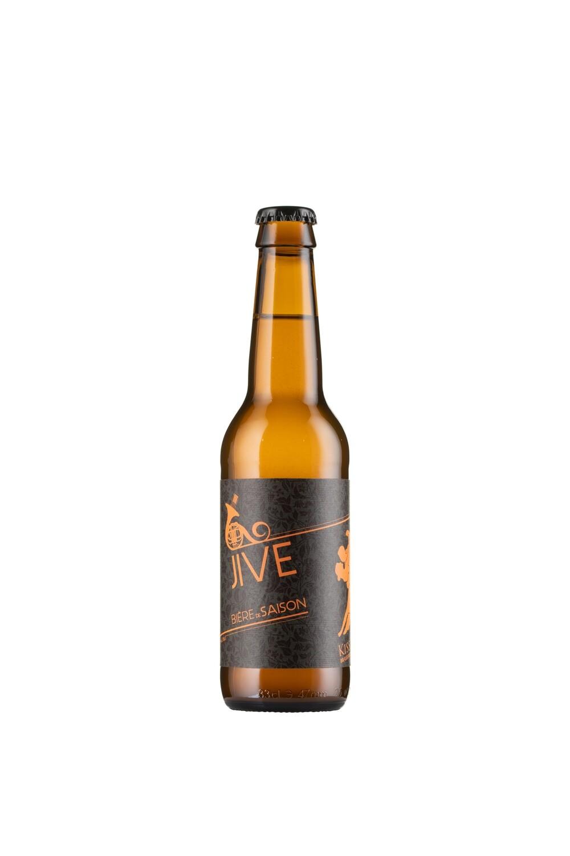 JIVE - Bière Blonde de saison, 33 cl