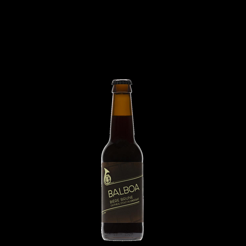 BALBOA - Bière Brune, 33 cl
