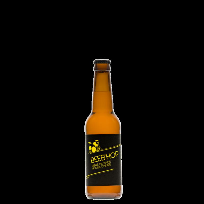 BEEB'HOP - Bière Blonde, 33 cl