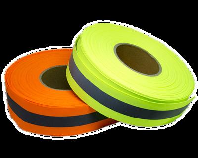 Tecidos Refletivo Mix Gorgurão 5cm de largura - Rolo com 100 m