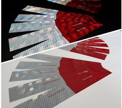 Faixas Refletiva Reflex Lateral LD/LE - Kit com 100 und