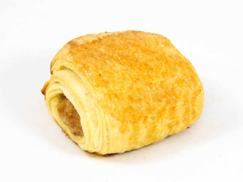 Worstenbroodje met gehakt