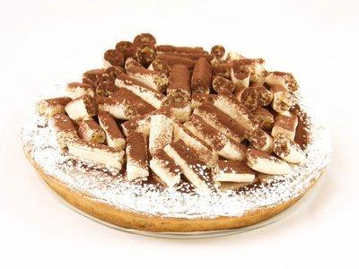 Chocomousse taart met méringue