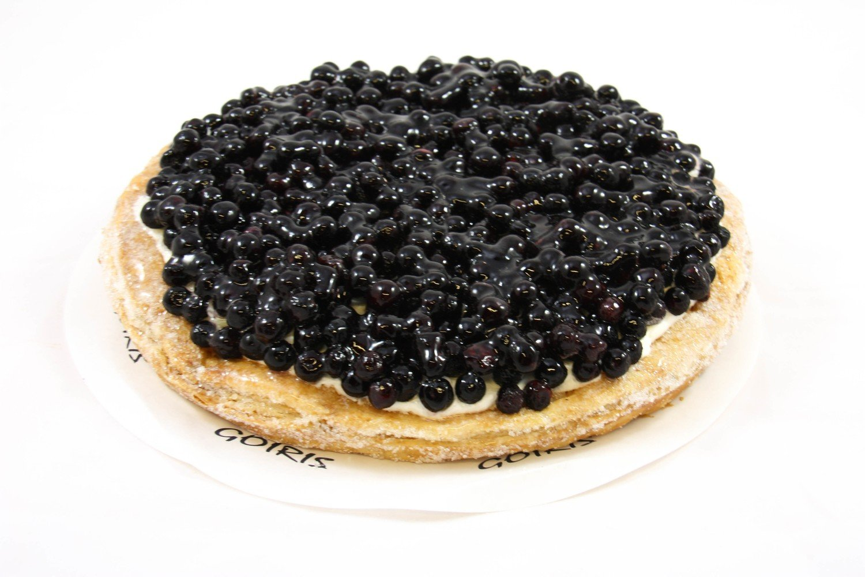 Bosbessen Brisée taart