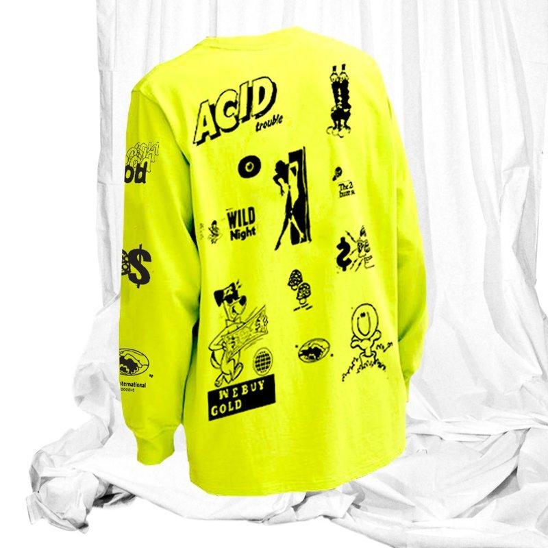 We Buy Gold Acid Trouble T-Shirt