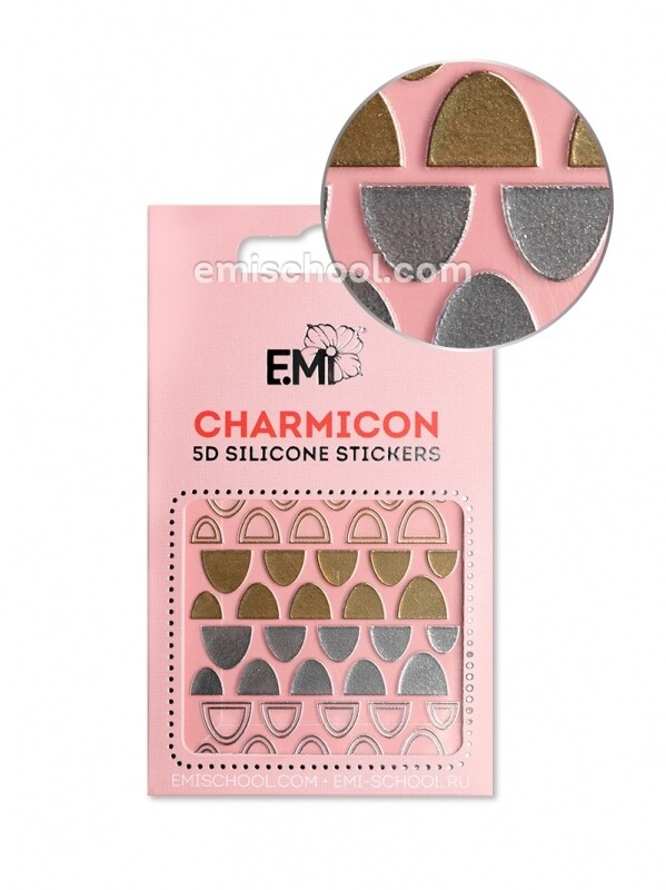 Charmicon 3D Silicone Stickers №95 Лунулы