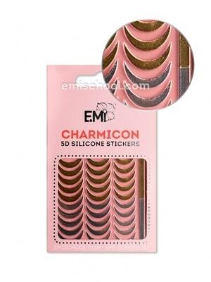 Charmicon 3D Silicone Stickers №104 Лунулы
