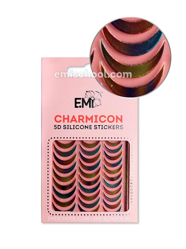 Charmicon 3D Silicone Stickers №101 Лунулы