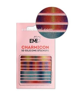Charmicon 3D Silicone Stickers №102 Линии