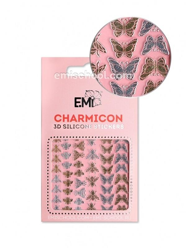 Charmicon 3D Silicone Stickers №110 Насекомые