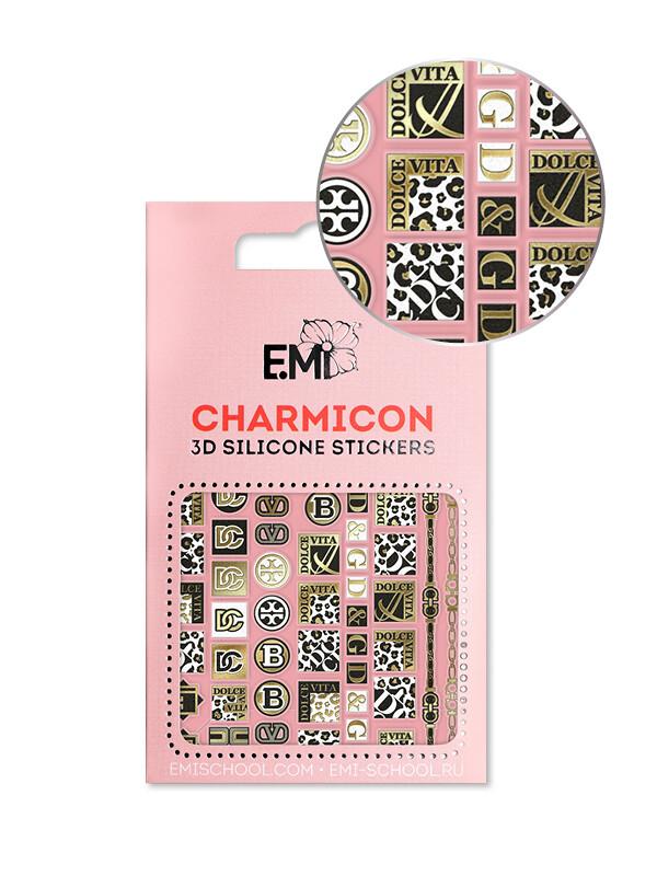 Charmicon 3D Silicone Stickers №164 Dolce Vita