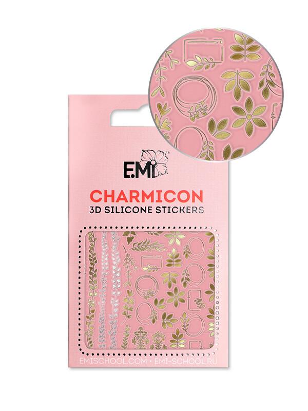 Charmicon 3D Silicone Stickers №139 Флёр