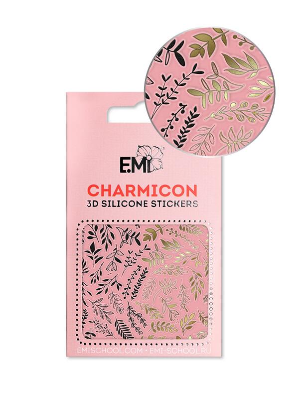 Charmicon 3D Silicone Stickers №143 Веточки
